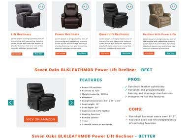 Lift Chair Home Page