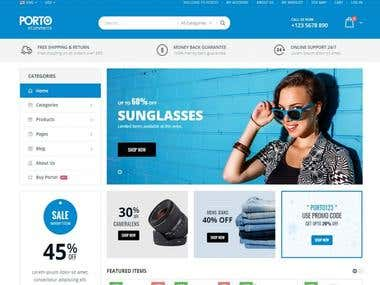 Shopify website Development and designing