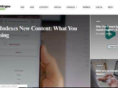 Search Engine Magazine: WordPress Theme Customization