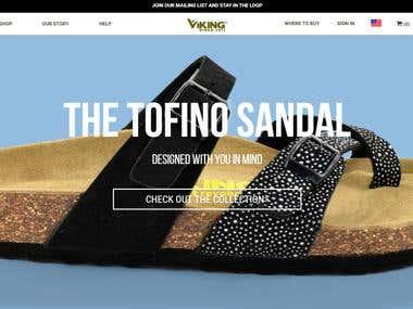 Shoes WebSite