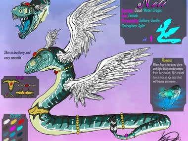 Dragon Concept Sheet