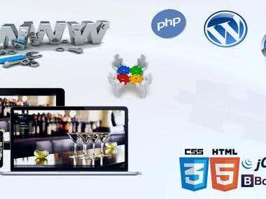 WEB design and enhancement