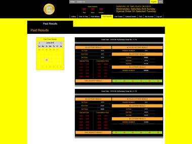 Betting Site with Lottery Game