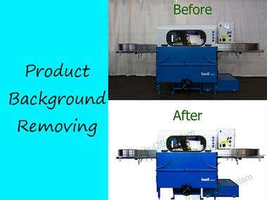 Product Background Removing