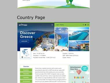 Website design for company Geofroggy