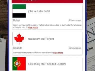 Job Searching App