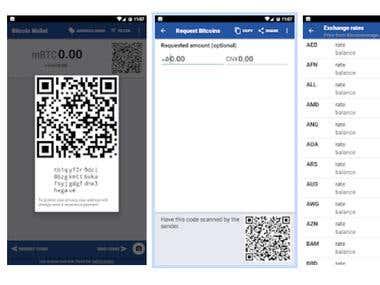 Bitcoin Wallet App