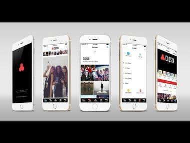 Social Media App - CLQSIX