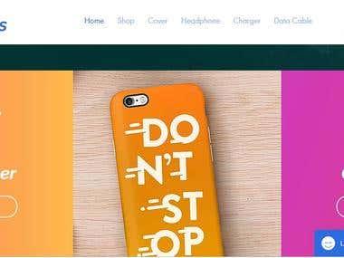 Raj Mobiles Website