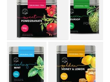 Flavoured Tea Cans