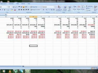 excel(financial formula)