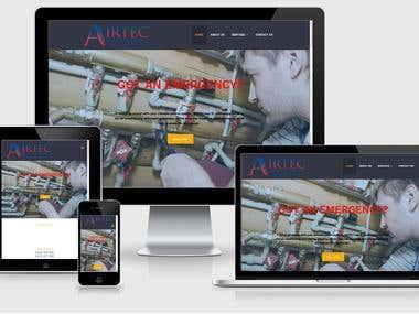 Website Redesign - Airtec Services