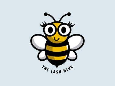The Lash Hive Logo