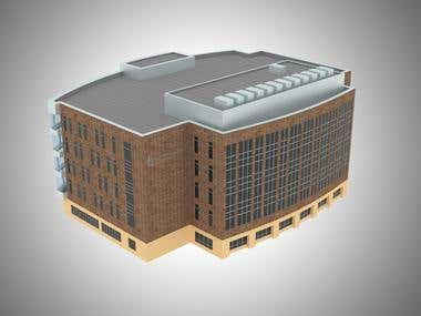 3D Building of Iowa University