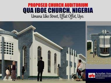 Architectural Design of Proposed Church Building