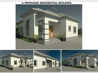 Proposed Three Bedroom Bungalow