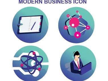 Modern Business Icon Theme