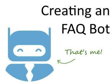 create any bot, add product your system or chatting, or any