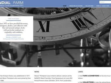 Wordpress Catalogue Website