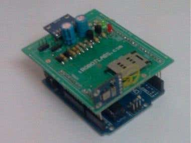 Prototype Designs(PCB Layout) GSM GPS