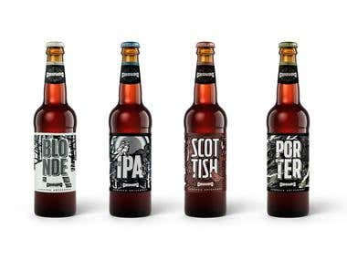 Craft Beer Packaging Choupo