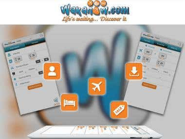 Flight and Hotels Booking App