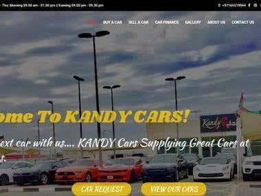 Online Car Trading Website