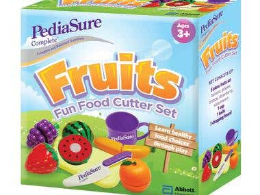 PediaSure Fun Food Toy