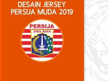 DESAIN JERSEY PERSIJA MUDA 2019