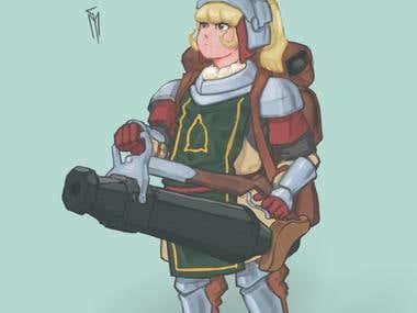 Character Design - Dragoon