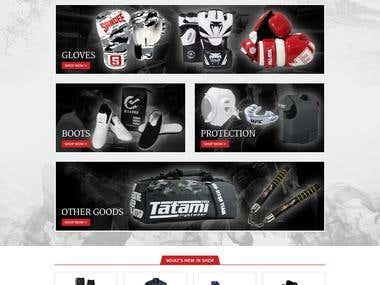 Martial Arts - eBay Store Design