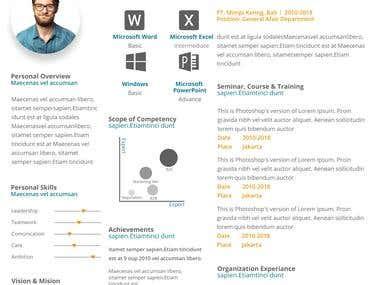 Design CV, Re-Write CV, Re-Design CV, Resume