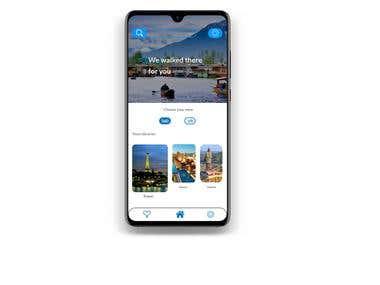 app screen design