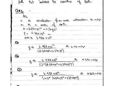 Physics Assignments, Posters ,