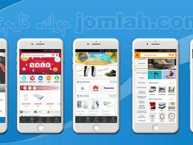 Online Shopping App(Android IOS: Magento)
