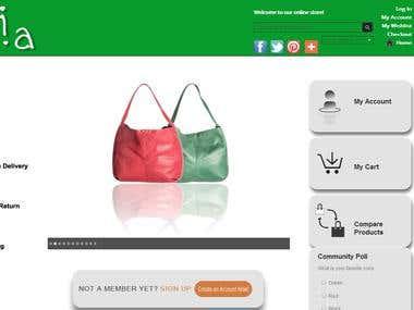 Thia - Magento Website