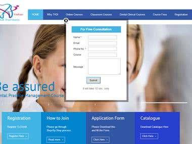 Dental Institute Website