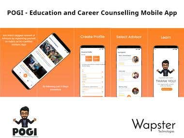 Pogi - Career and Educational Counselling App