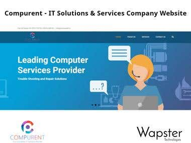 Compurent - IT Solutions & Services Company Website