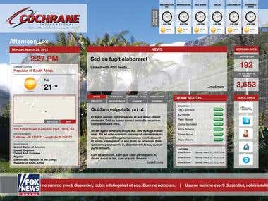 Cochrane Intranet Site
