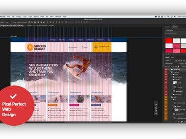 PDF to website