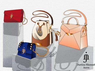 JUSTINA NKANSAH BAGS COLLECTIONS