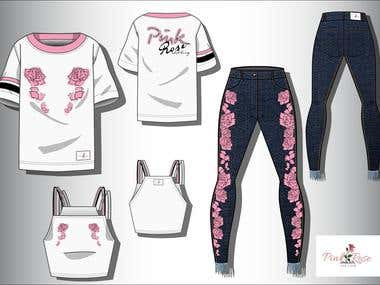 PINK ROSE capsule collection