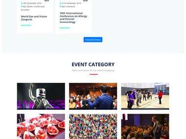 Near Events Website