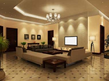 Executive Lounge, 2k Residence, Islamabad