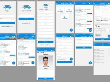 Booking User And Carrier App in Android & IOS