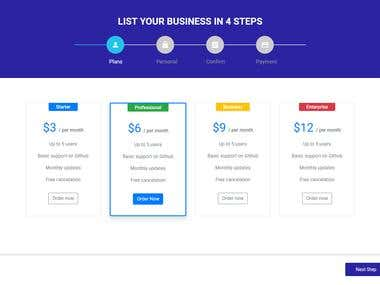 Click funnel page