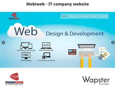 Mobiweb - IT company Website