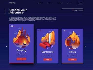 clients webpage