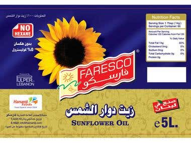 Sunflower Oil Design